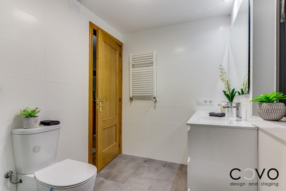 Reforma integral de baños en vivienda - Baño principal