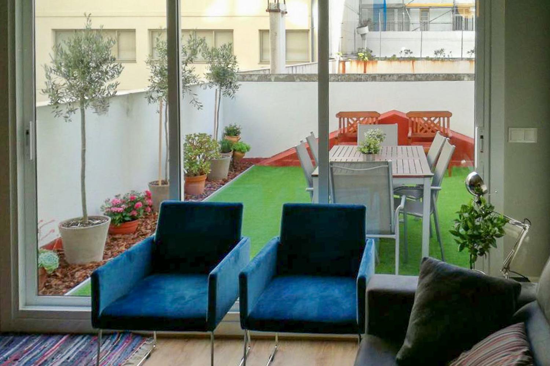 primero con terraza para alquiler vacacional en el orzán_ANTES