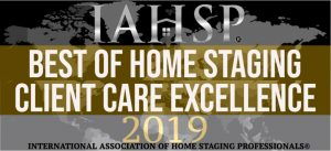 Best-of-Home-Staging-2019-Client Care Excellence-CCVO-Design-and-Staging